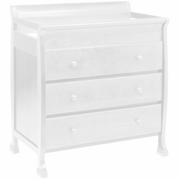DaVinci Porter 3 Drawer Changer in White