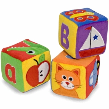 Melissa & Doug Plush ABC Blocks
