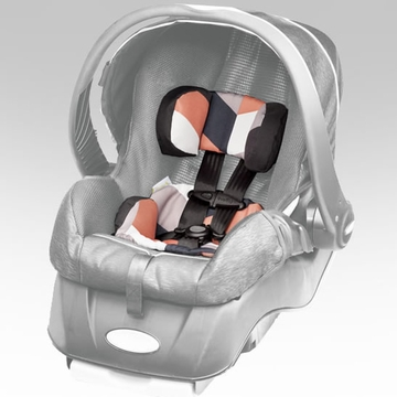 Snugli Infant Car Seat Style Set - Geo Stripe