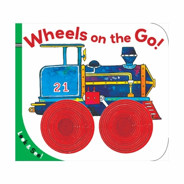Look & See: Wheels on the Go! Board Book