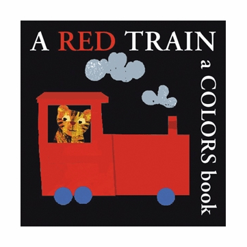 A Red Train Board Book