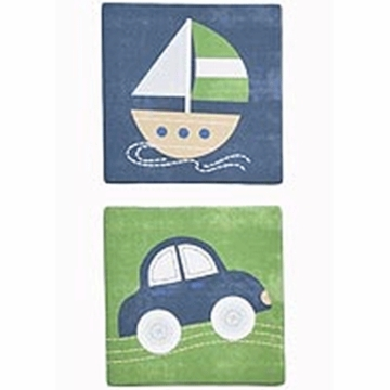 KidsLine Cambridge Canvas Wall Art