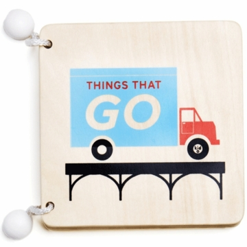 Kid O Wooden Book Things That Go