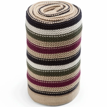 Stokke Knitted Blanket - Purple Multi