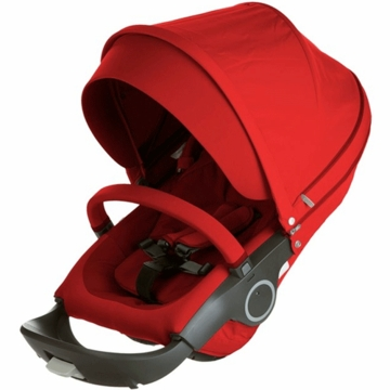 Stokke Xplory & Crusi Seat in Red