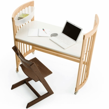 Stokke Care Changing Table Student Desk Expansion Kit in Natural