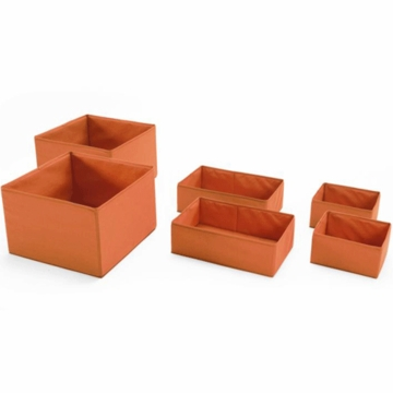 Stokke Fabric Basket Set in Orange
