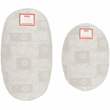 Sleepi Mini Bassinet & Crib Foam Mattresses by Colgate