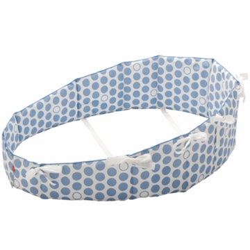 Stokke Sleepi Mini Bumper in Dots Blue