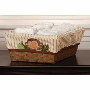 KidsLine Jungle 123 Basket with Liner