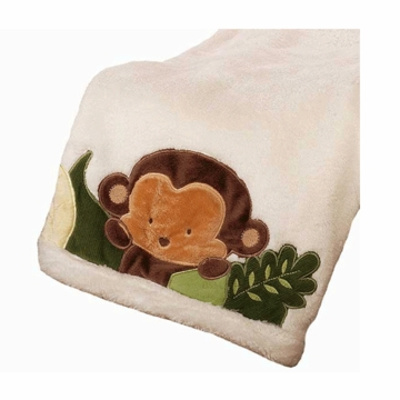 KidsLine Jungle 123 Boa Blanket