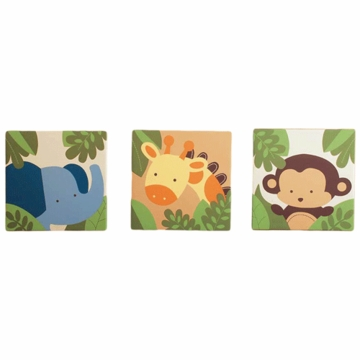 KidsLine Jungle 123 Canvas Wall Art