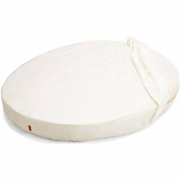 Stokke Sleepi Mini Fitted Sheet in White