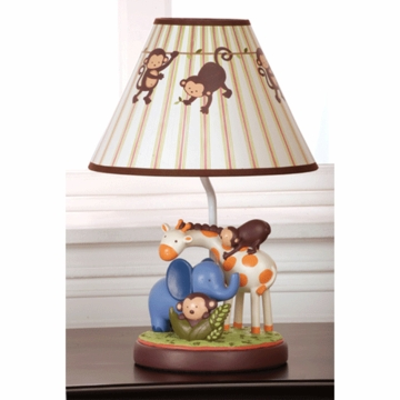KidsLine Jungle 123 Lamp Base and Shade