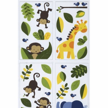 KidsLine Jungle 123 Wall Decals