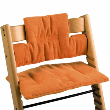 Stokke CLOSEOUT Tripp Tapp Cushions in Orange Corduroy