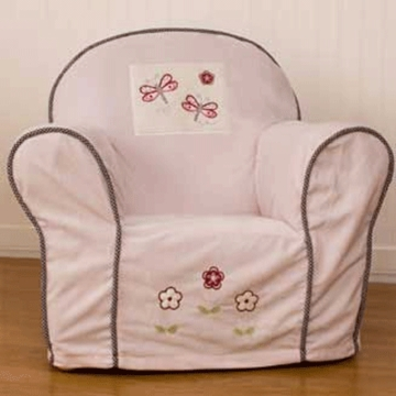 KidsLine Lady Bug Upholstered Chair Slip Cover