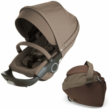 Stokke Xplory Style Kit Seat in Brown