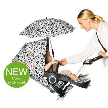 Stokke XPLORY Summer Kit - Blue Pixel