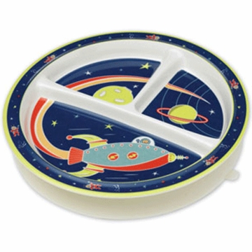 Sugar Booger Outerspace Divided Suction Plate