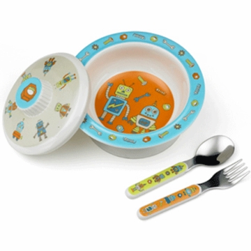 Sugar Booger Retro Robot Feeding Collection Set