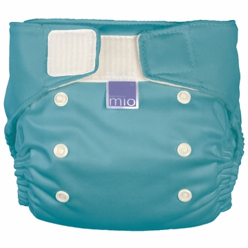 Bambino Miosolo All-in-One Pocket Diaper - Pacific Teal
