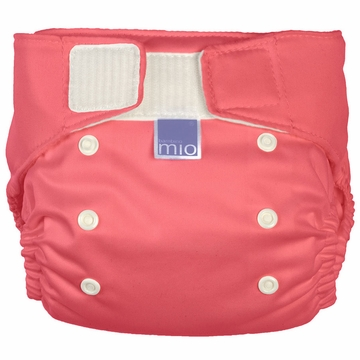 Bambino Miosolo All-in-One Pocket Diaper - Coral