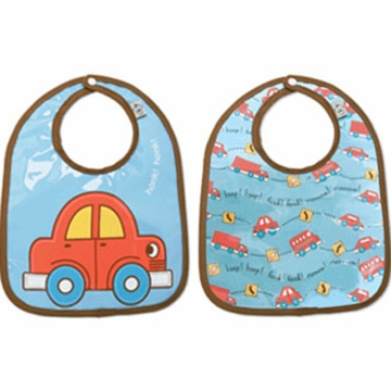 Sugar Booger Vroom Mini Bib Gift Set of 2