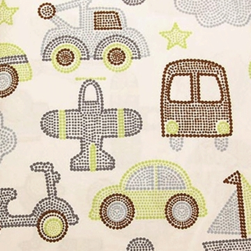 KidsLine Mosaic Transport Fitted Sheet