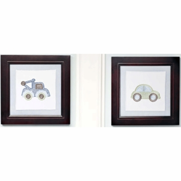 KidsLine Mosaic Transport Wall Art