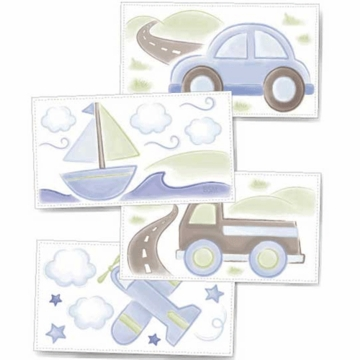 KidsLine Mosaic Transport Wall Decals