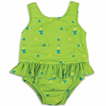 Bambino Mio Swim Suit Nappy Large in Lime Fish