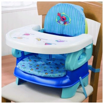 Summer Infant Sesame Street Folding Booster Seat