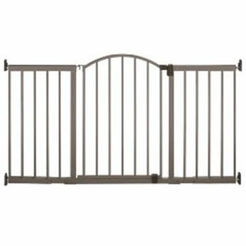 Summer Infant Stylish n' Secure 6' Foot Extra Tall Metal Expansion Gate - D