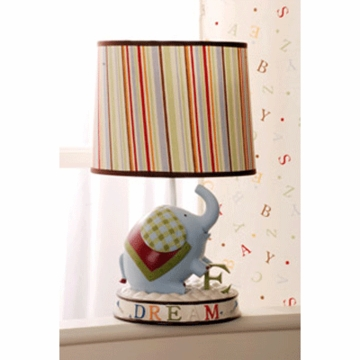 KidsLine My First ABC Lamp Base and Shade