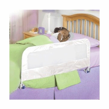 Summer Infant Sure and Secure Single Bedrail in White