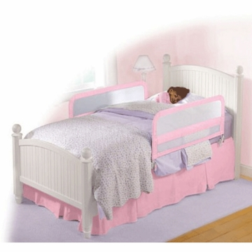 Summer Infant Sure & Secure Mesh Double Bedrail In Pink