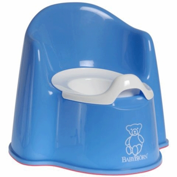 BabyBj�rn Potty Chair in Blue