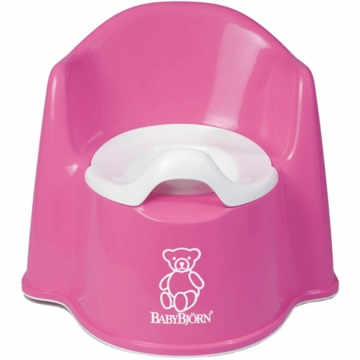 BabyBj�rn Potty Chair in Pink