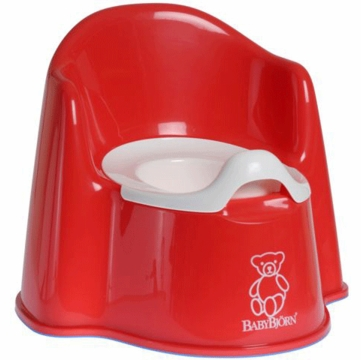 BabyBj�rn Potty Chair in Red