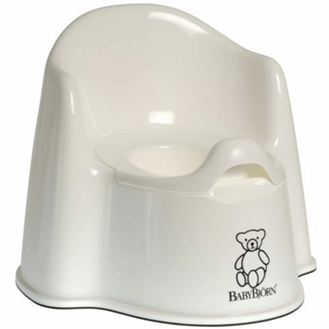 BabyBj�rn Potty Chair in White