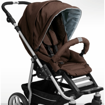 Teutonia T-Stroller Seat in Jasper Brown