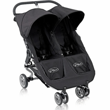 Baby Jogger City Micro Double Stroller in Black
