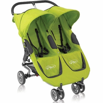 Baby Jogger City Micro Double Stroller in Kiwi