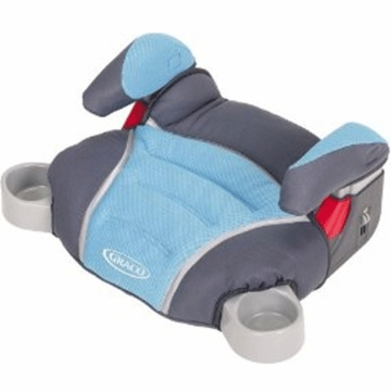 Graco No Back Turbo Booster Car Seat Oceanic 8E17OCA