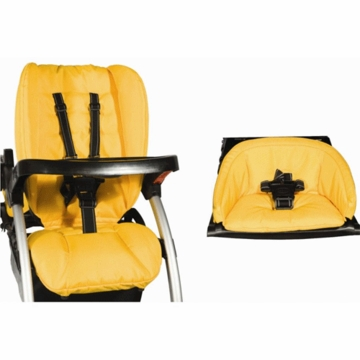 Joovy Ergo Deluxe Seat Cover in Lemontree