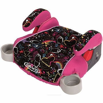 Graco Backless Turbo Booster Car Seat - Star Sketch