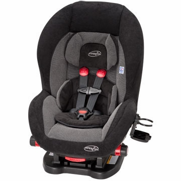 Evenflo Triumph 65 LX Convertible Car Seat in Baldwin