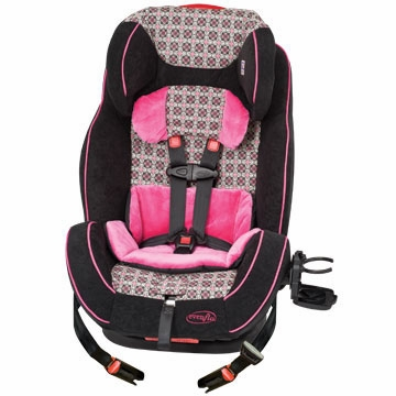 Evenflo Symphony 65 LX All-In-One Car Seat - Flamenco (2011)