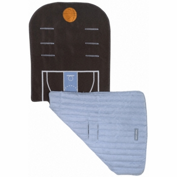 Maclaren Reversible Seat Liner in Sports Fan Basketball